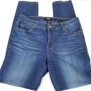 Nine West Jeans size 12 Gramercy skinny jeans